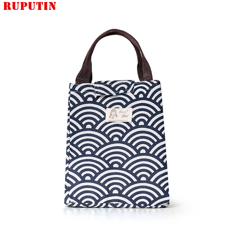 Dining Thermal Lunch Box Portable Insulation Package Waterproof Oxford Cloth Lunch Bag For Women Kids Men Tote Cooler Bags Pouch