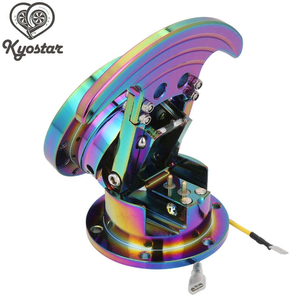Rainbow Steering Wheel Quick Release steering wheel hub adapter Neo Chrome Pop-up Car Steering Wheel Hub Ataptor forever sharp a01 56p steering wheel adapter 5 6 hole billet alum