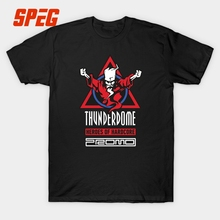 Thunderdome T Shirt Men Heros of Hardcore Tee Cotton Custom Short Sleeve XXXL Fans Tshirt Hardcore Techno and Gabber Wizard Tees