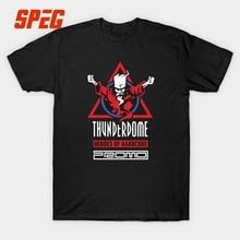 Thunderdome T Shirt Men Heros of Hardcore Tee Cotton Custom Short Sleeve XXXL Fans Tshirt Hardcore Techno and Gabber Wizard Tees