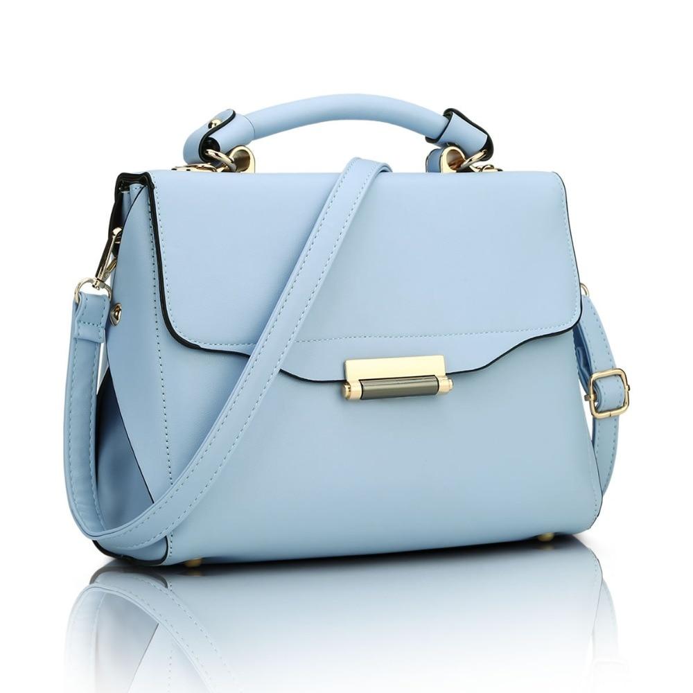 ФОТО The new 2017 fashion one shoulder bag and colorful female handbag PU leather bag