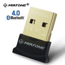 Мини USB Bluetooth Адаптер КСО V4.0 Двойной Режим Беспроводной Bluetooth Dongle 4.0 Передатчик Для Windows 10 8 Win 7 Vista XP 32/64Bit