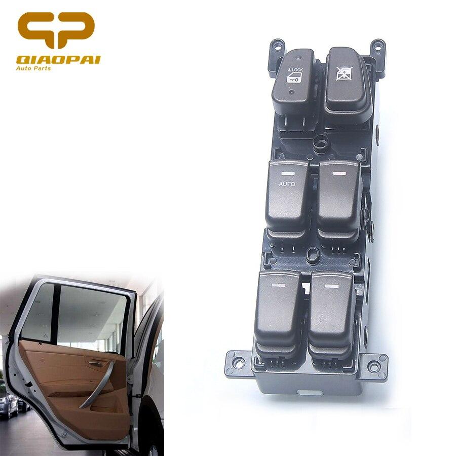 LHD Master Power Window Switch 93570-3K600 935703K600 Car Front Window Main Control Switch Button For Hyundai Sonata 2008-2010