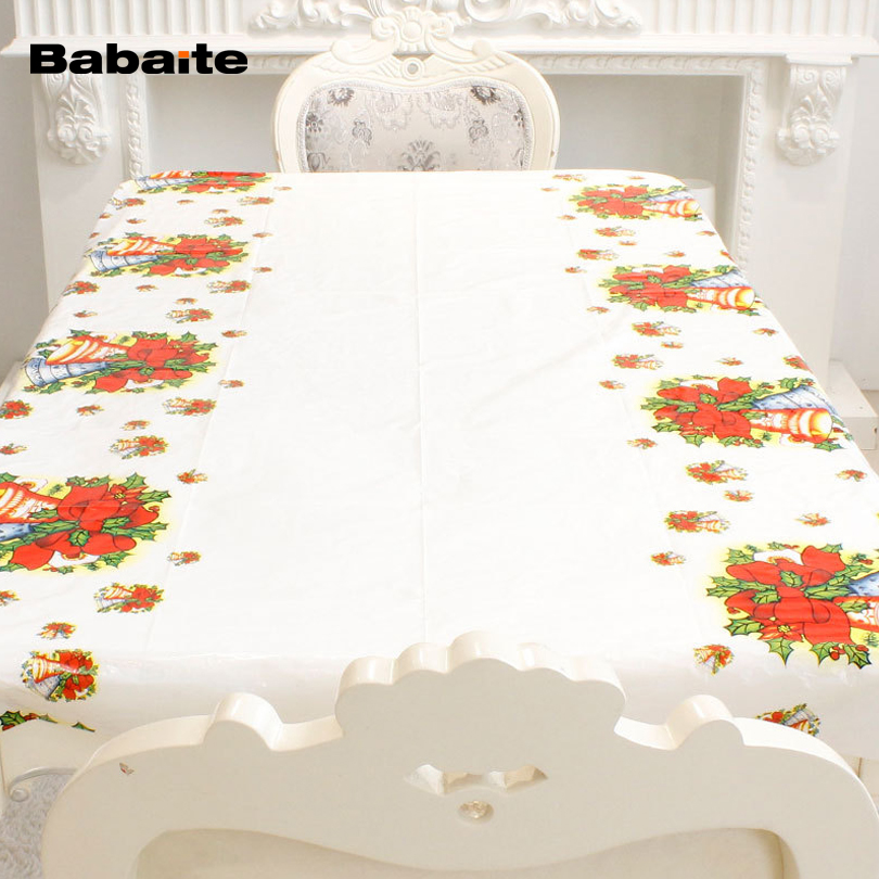 Babaite Christmas Festive Disposable Tablecloth Waterproof  : Babaite Christmas Festive Disposable Tablecloth Waterproof Table Cloth Xmas Santa Clause Tableware Dining Kitchen Table Cover from www.aliexpress.com size 810 x 810 jpeg 392kB