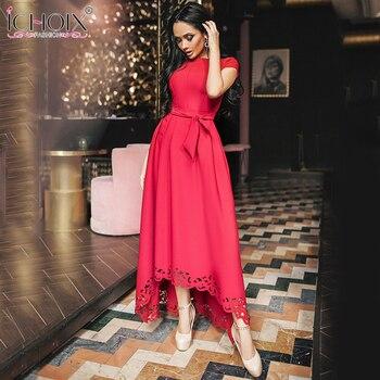 Women Maxi Short Sleeve Dress 1