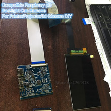5,5 zoll 1440 p 2560 1440 display modul mit HDMI fahrer bord für 3D-VR-BRILLE DIY für 3d-drucker diy raspberry pi3
