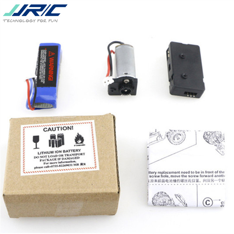 JJRC Q36-001 Upgrade Power Set 7.4V 500mAh Li-Po Battery & 180 Motor Combo For Q35 Q36 RC Car Spare Parts Accessories new large capacity 7 4v 4000mah li po battery for k939 high speed rc remote control car spare parts accessories battery
