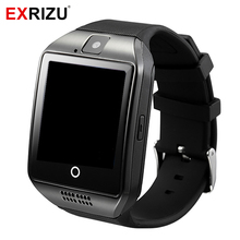 EXRIZU Q18 Bluetooth Smart Watch Phone Health Clock Pedometer Wristband SIM Card MP3 Player Smartwatch for