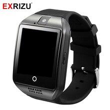 EXRIZU Q18 Bluetooth Smart Watch Phone Health Clock Pedometer Wristband SIM Card MP3 Player font b