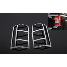 Pair Left Right Tail Light Rear Lamps Cover Trim For Jeep Patriot  2011 2012 2013 2014 2015