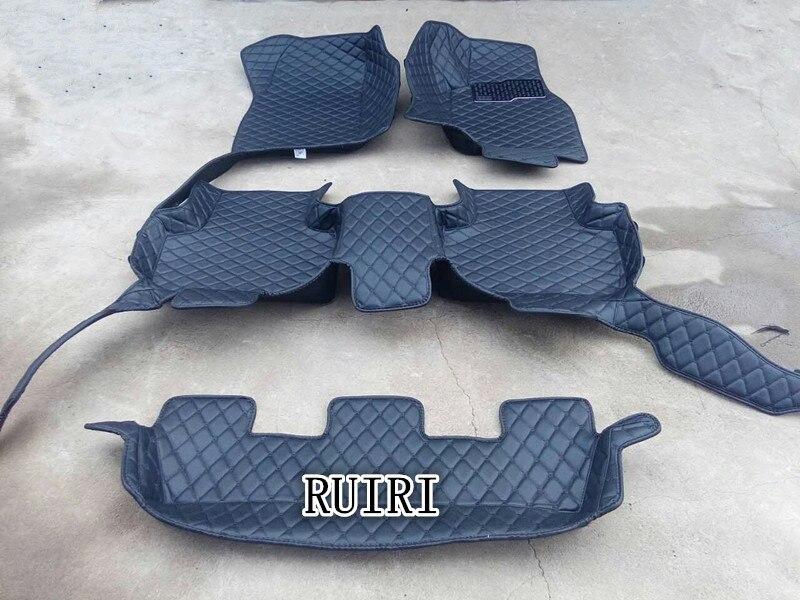 Бесплатная доставка! Специальные коврики + багажник коврик для правой руки диск Lexus LX 570 7 мест 2018 прочный ковры для LX570 2017 2008