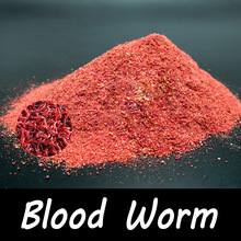 1 Veske 40g Blood Worm Flavour Additive Carp Fishing Feeder Bait Boillie Making Material