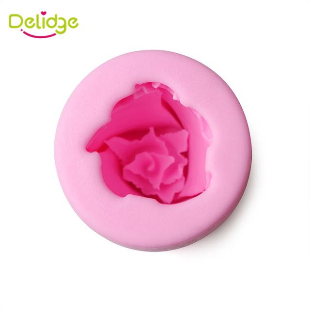 Cylindrical Shape Rose Flower Mold