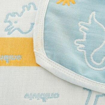 6 Capas Bebé Manta Bebé Baño Muselina Algodón Swaddle Bebé Urdimbre Swaddle Ropa De Cama Infantil Recibir Mantas Para Recién Nacidos 120*150 Cm