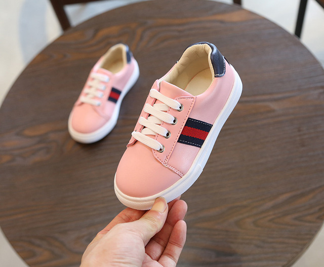 Children Shoes Girls Boys Sport Shoes Antislip Soft Bottom Kids Baby Sneaker Casual Flat Sneakers Shoes