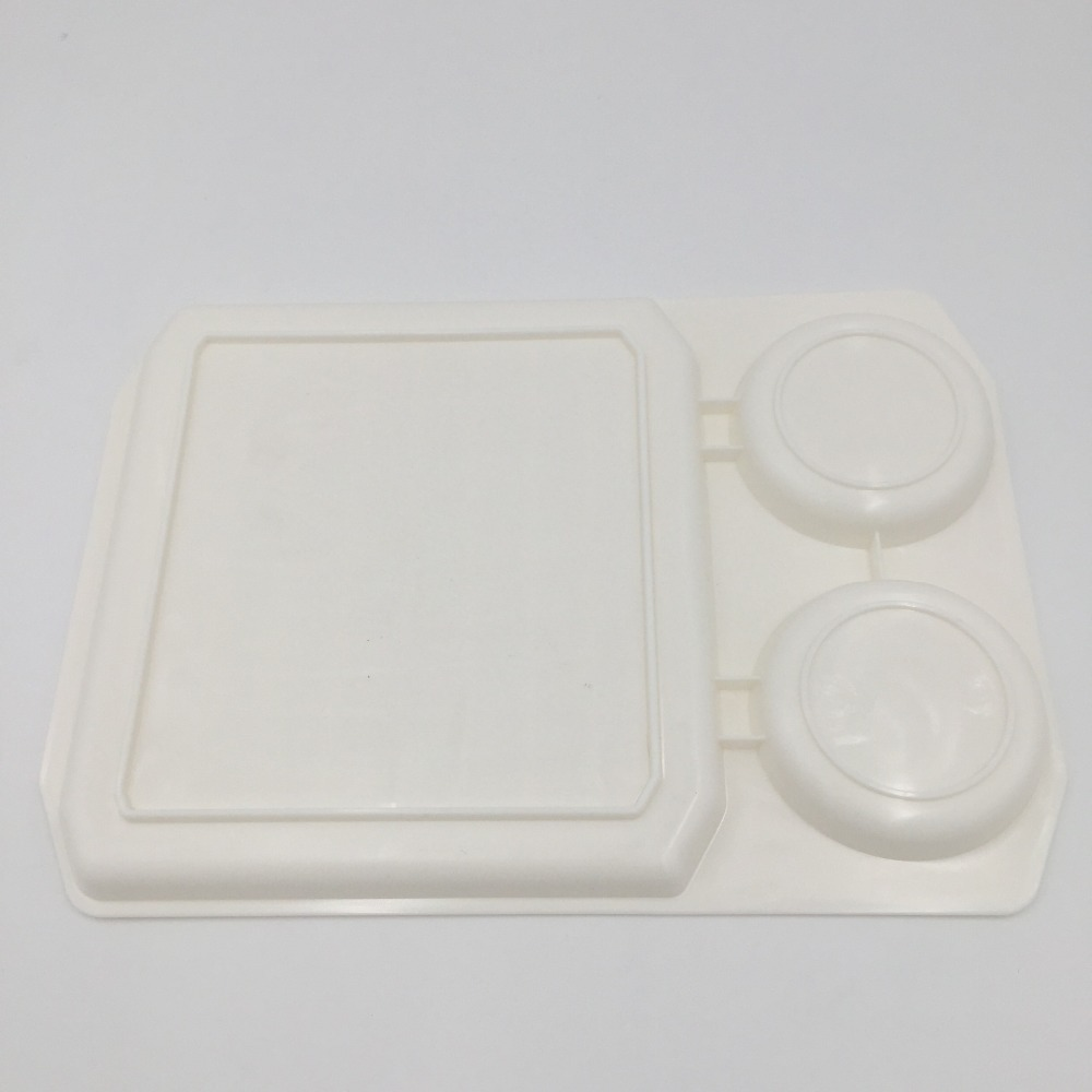 1PC Microwave Cookware Bacon Rack Egg Fried Baking Tray White Oven Bake Meat Food Holder Pan Creative OK 0744