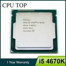 Procesador Intel Core i5 4670K 3,4 GHz 6MB Socket LGA 1150 Quad Core CPU SR14A