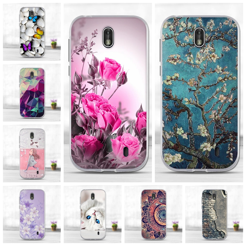 Silicon Case <font><b>for</b></font> <font><b>Nokia</b></font> 1 <font><b>2.1</b></font> 3.1 5.1 7.1 <font><b>2018</b></font> Soft TPU Back <font><b>Cover</b></font> Shockproof Coque Bumper Housing Protective Phone Bags Cases image