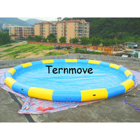 inflatable swimming pool floats,inflatable family size spa swimming pools,Giant Inflatable water pool for zorb rolling ball