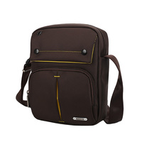SINPAID Men S Anti Theft Shoulder Bag Waterproof Crossbody Sling Messenger High Quality Oxford Material Black