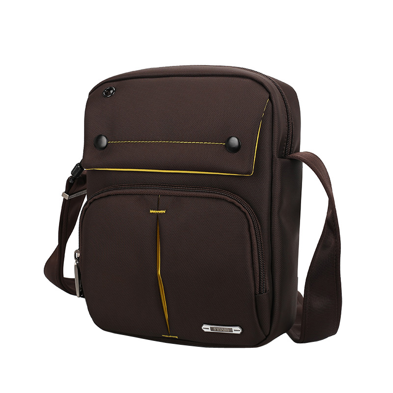 de oxford preto brown & Interior : Bolso Interior do Zipper