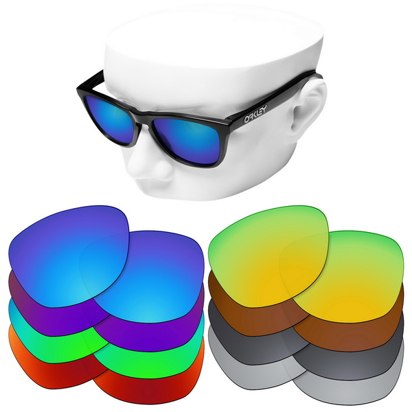 OOWLIT Polarized Replacement Lenses For-Oakley Frogskins Sunglasses