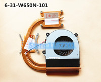 New Original Laptop/Notebook CPU cooling Radiator Heatsink&Fan for Gigabyte P17F V3 P15F 6 31 W650N 101 6 23 AW15E 011
