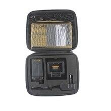 Smart чехол двусторонний радио чехол переноска сумка хранение для BAOFENG UV-5R UV-5RE UV-B2 TYT TH-F8 Walkie Talkie Launch Hunting Bag