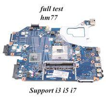 NOKOTION NBY1111001 NB. Y1111.001 LA-7912P материнская плата для acer aspire V3-571 NV56R V3-571G материнская плата для ноутбука HM77 DDR3 полный тест