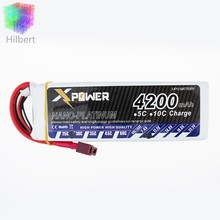 T Plug 4200Mah 11.1V 3S 30C Lithium Li-po Battery For RC Helicopter Qudcopter Drone Truck Car Boat Bateria