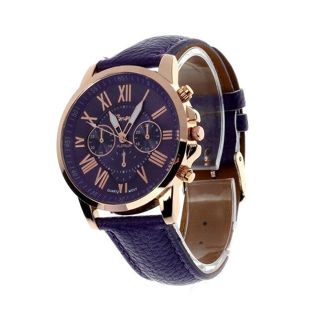GENEVA Brand Women's luxury bracelet watches fashion women's dress Fashion Women