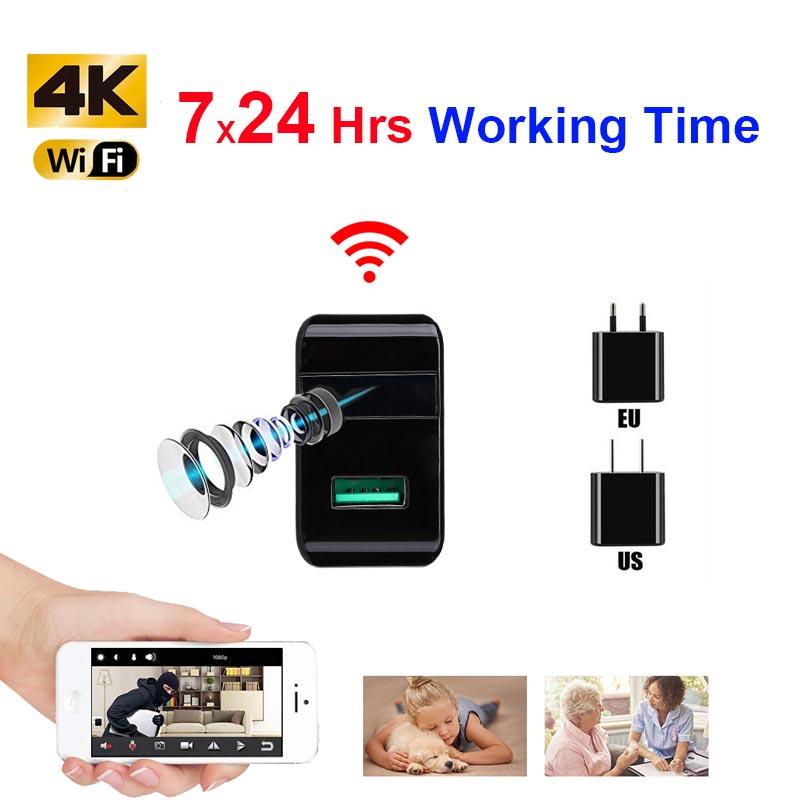 2019 HD 1080 P WiFi IP mini caméra P2P Sans Fil Micro webcam caméscope vidéo Enregistreur Soutenez la Vue À Distance Secret caché TF carte