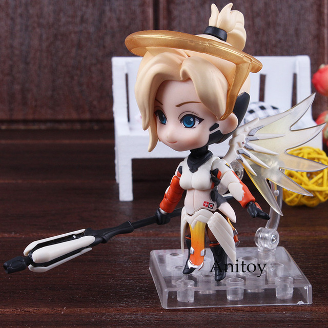 Nendoroid 790 Mercy Classic Skin Edition PVC Mercy Figure Action Figure Collectible 5