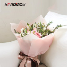 HARDIRON Flowers Bouquet Wrapping Paper Light Color waterproof Flowers Packaging Paper Materials Florist Supplies(China)