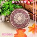 Sakura bag Kinomoto Star Japan Anime Card Captor Sakura The Clow Long Zip Women Wallet Purse Coin Bag Cosplay