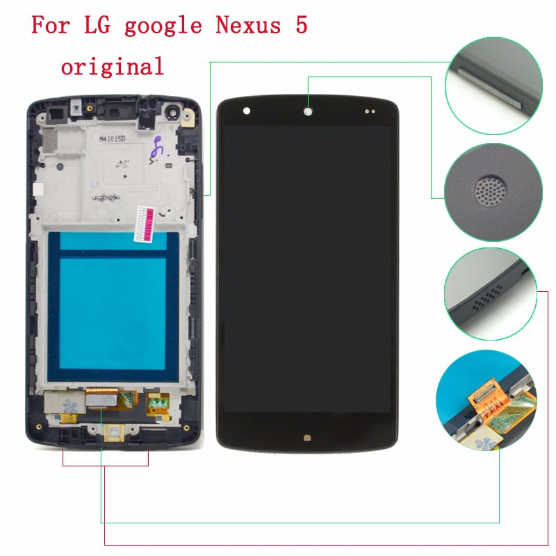 -Google-Nexus-5-D820-D821-Black-LCD-Display-Touch-Screen-Digitizer-Assembly+Frame---120--(2)
