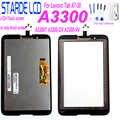 Pour Lenovo Tab A7-30 A3300 A3300T A3300-GV A3300-HV écran LCD écran tactile numériseur capteur verre écran panneau moniteur