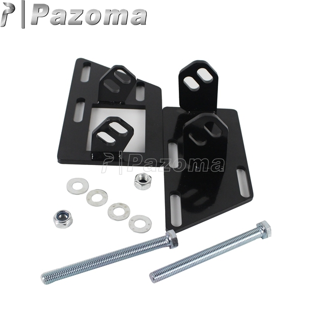 Steel Adjustable Swap Motorcycle Engine Mounting Brackets for Chevy ...