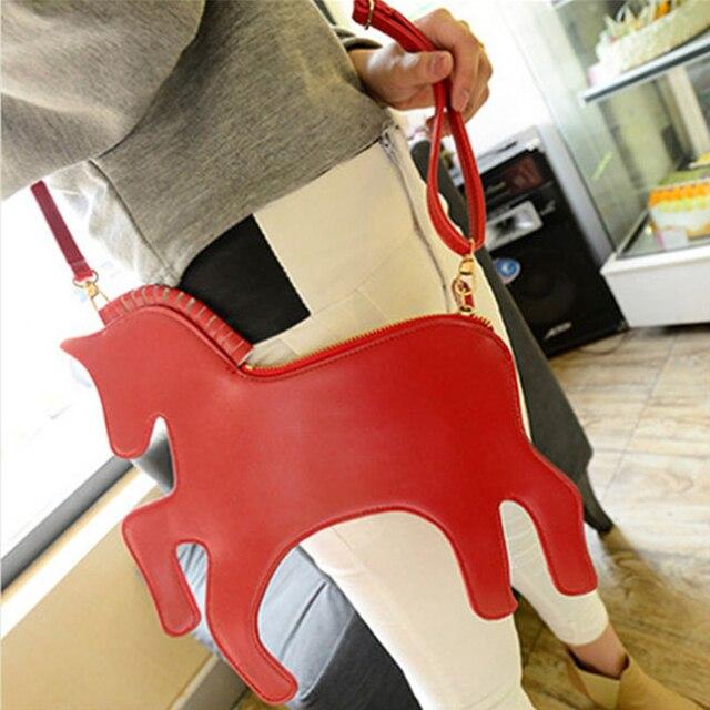 Новый дизайн моды ретро сцепления вечерняя сумочка Лазерная Единорог Симфония плечо сумка креста тела Сумка RD840154