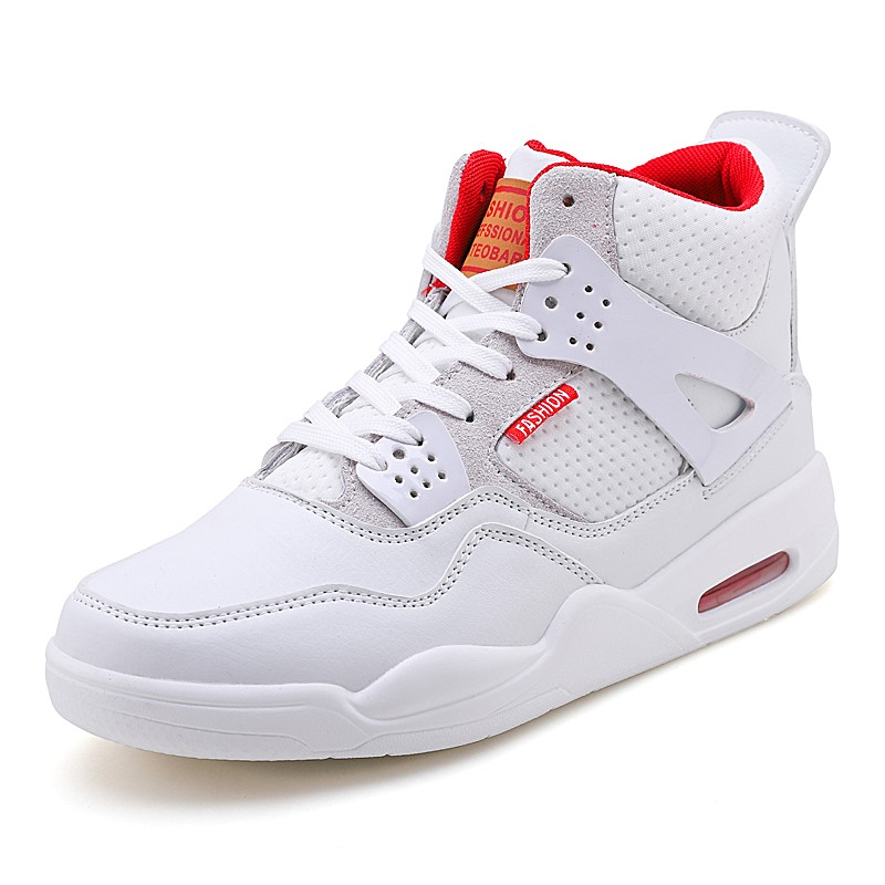 Bakset Homme 2018 Hot Brand Men Cool Basketball Shoes Red Sneakers Mens Retro Breathable Gym Sport Shoes White Male Jordan Shoes