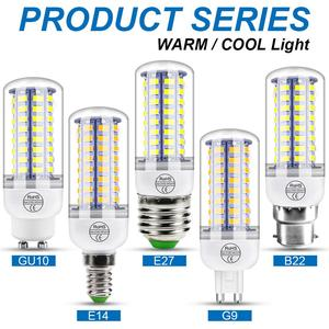 220V GU10 Led Lamp Bulb E14 Le