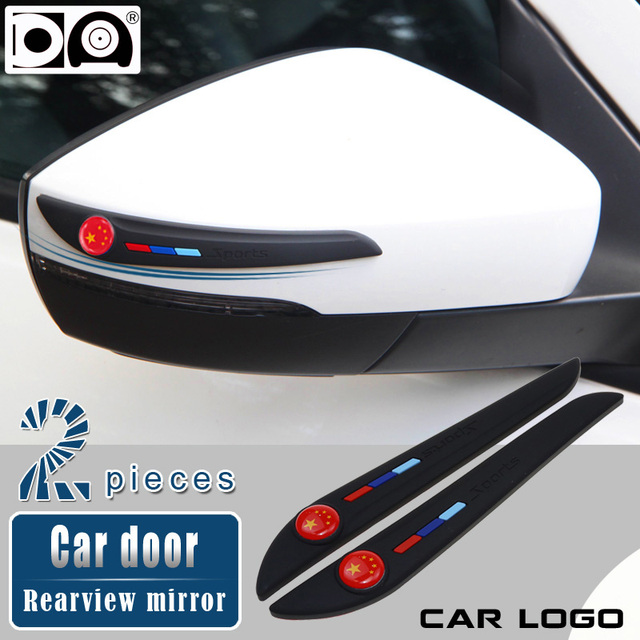 รถกระจกมองหลังกระจก Anti collision strip สำหรับ VW Toyota Honda Nissan Hyundai Kia Ford Audi BMW Mazda Peugeot mercedes Skoda