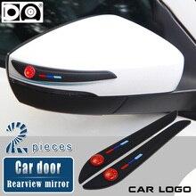 車ドアバックミラー衝突防止ストリップ vw トヨタ、ホンダ、日産現代起亜フォードアウディ BMW マツダプジョーメルセデスシュコダ
