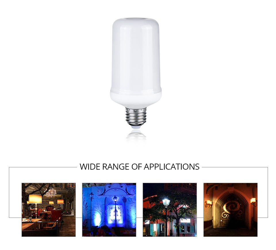LED Flame lamps (2)