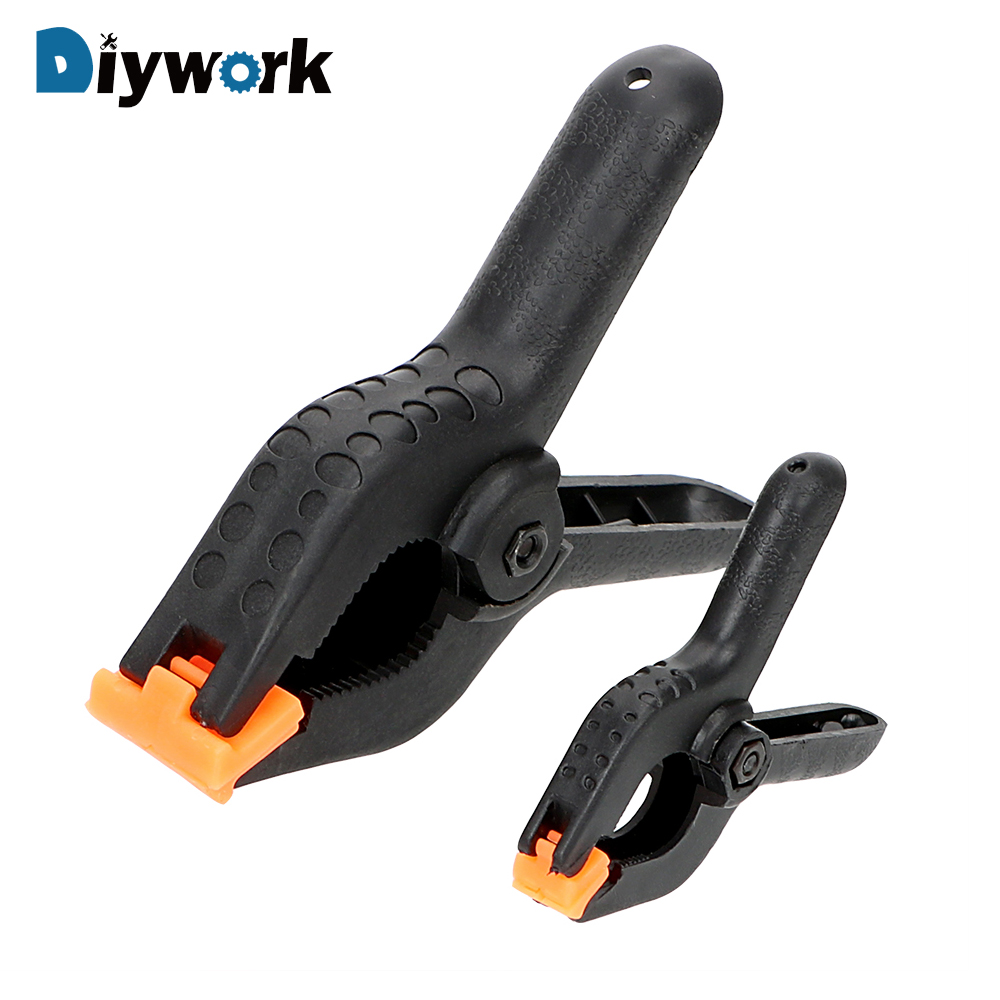 DIYWORK 2 4 Plastic Toggle Clamps Woodworking Spring Clip A-shape for Photo Studio Background Clamp Heavy DIY Hand Tools DIYWORK 2 4 Plastic Toggle Clamps Woodworking Spring Clip A-shape for Photo Studio Background Clamp Heavy DIY Hand Tools
