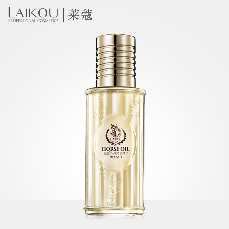 LAIKOU Horse Oil anti aging scar face Hyaluronic Acid Essence Face Serum whitening moisturizing 50ml skin care whitening serum