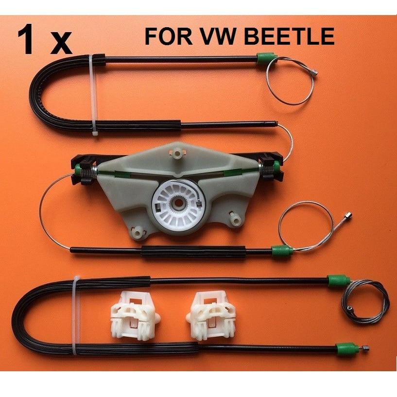 For VW BEETLE WINDOW REGULATOR ELECTRIC REPAIR KIT FRONT-LEFT Onwards 1997