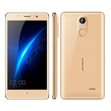 Оригинал leagoo m5 смартфон android 6.0 mt6580a quad core 2 ГБ + 16 ГБ 5.0 дюймов металлический каркас 3 г wcdma отпечатков пальцев id мобильного телефона