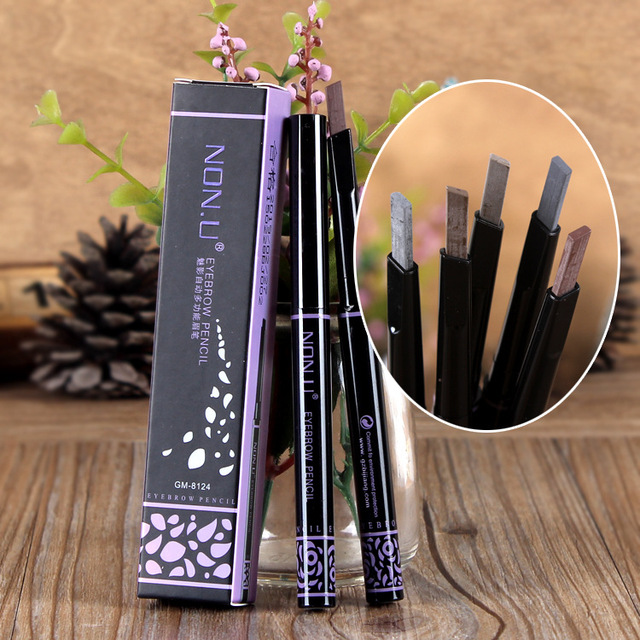 5pcs/set Brand Makeup Eyebrow Automatic Pencil Makeup 5 Style Paint For The Eyebrow Pencil Cosmetics Brow Eye Liner Tools
