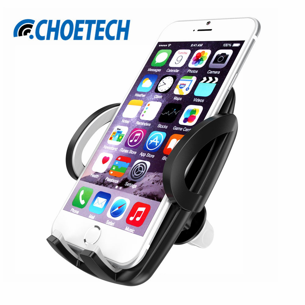 Adjustable Car Phone Holder 360 Degree Rotation With Air Vent Mount Ventilation T360 Mobile Support Stand Bracket For Iphone Samsung